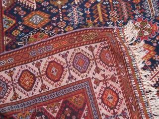 Antique Qashqaee rug  Size:280x172cm  P.O.R