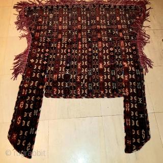 Antique Uzbek horse cover very good condition  $2400  Size140x100cm