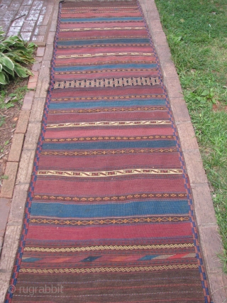 This is a nice beluch runner all natural colors very nice weave and silky soft wool