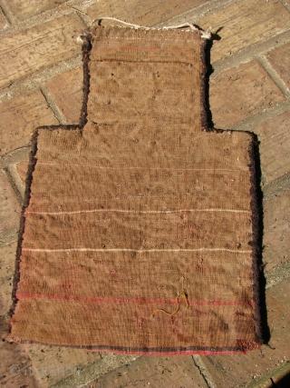 Nice old flatweave salt bag northwest afghanistan turkmen tribe