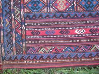This is a kurdish sumak grain sack
