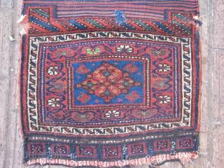 This is an old kurdish khorjin(saddlebag) good colors nice shiny wool