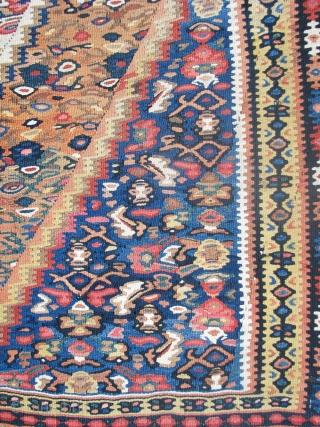 Old senah kilim nice colors and its in a mint condition