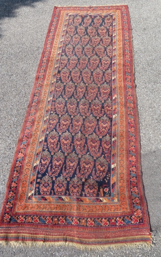Afshar on wool foundations