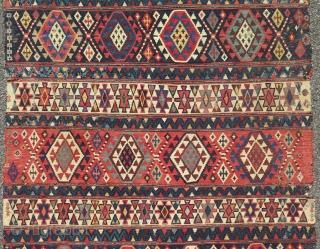 Antique 19teen Century Shirwan Kilim.  320 X 165 CM  More pics available.  Smooth price