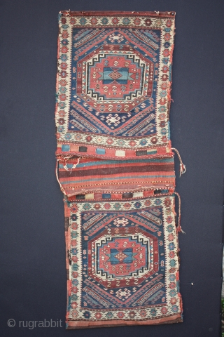 19th century complete Shahsavan khorjin.