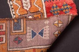 "East Anatolian (Sivas) Rug Fragment- 1'1""x3'3""/33x99 cm"