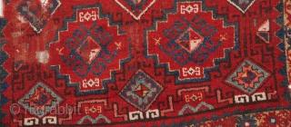 "East Anatolian Rug Fragment-3'5""x4'0""/105x120 cm"