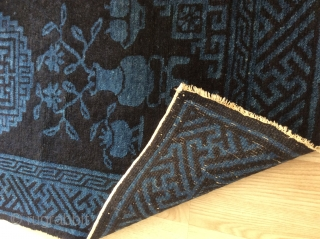 Antiq China rug From Baotou perfekt condition size 127 x 62 , prise is very risonebel . Sold .