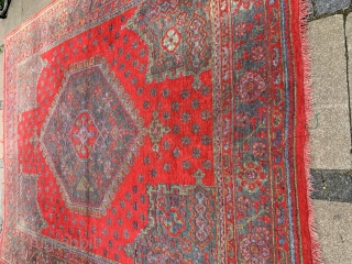 Antik Turkish  Oushak size 350x275 . Very good condition   , very fair  price 