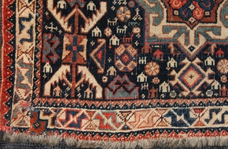 khamseh zuid west persian  zak front size 0.75 cm x 0.61 cm