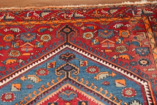 Wonderful Northwest Persian carpet natural colors  Clean hand washed . as you can see in the picture . size.2.40cm x 1.35cm