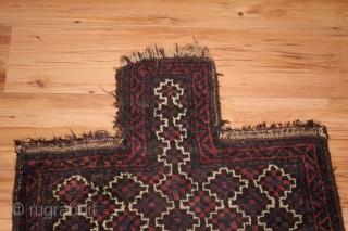 19th Century Baluch Saltbag Natural colors siz 0.70cm x 0.60cm