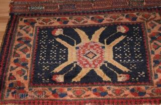 .Afshar bagface ,,Rare design..finely woven . size. 0.45cm x 0.48cm