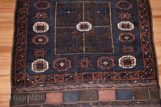 Antique baluch Bagface size..  0.80cm x 0.78cm