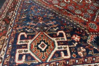 Wonderful Antique  Qashghai size 1.45cm x 1.20cm
