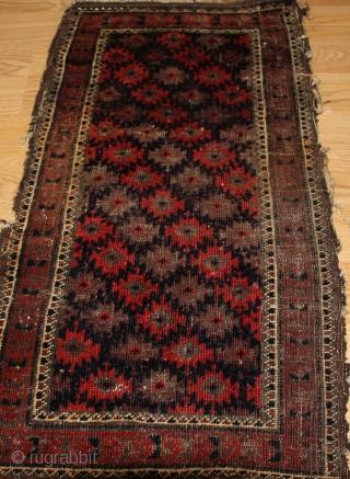 Antique Baluch  circa 1880  size 0.90cm x 0.48cm