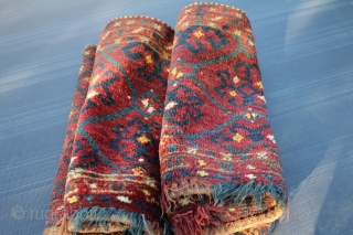 Turkmen Torba natural color good condition size.1.50cm x 0.47cm