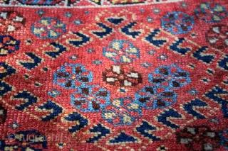 Wonderful Antique Bagface . natural colors . good condition . not washed yet . original piece . size 0.50cm x 0.56cm