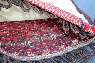 Turkmen Bagface good condition size 0.52cm x 0.47cm