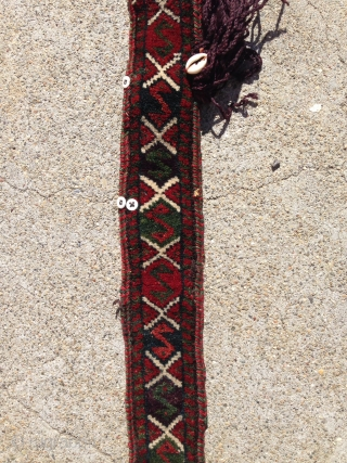 Baluchi trapping from the 1900 all natural colors.