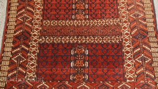 Last quarter 19th century Tekke Ensi very good condition and natural colors.