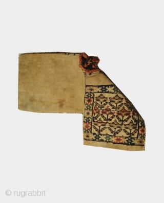 antique shahsavan heybe in great condition  size:41cm x16cm
