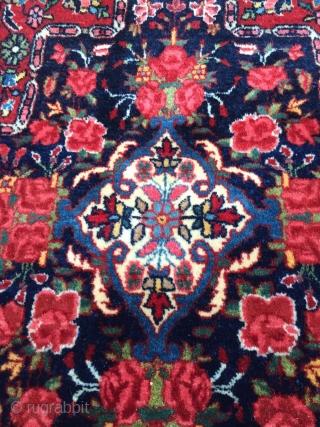 Bidjar circa early 20th century. 78cmx 65cm Fine weave, all natural colors