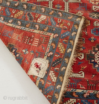 Caucasian Karagashli/Shirvan ca. 1890. Size 285cmx168cm