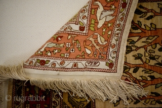 Silk Hereke. Late 20th century. 