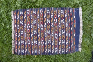 Dalmati apron sans fringes. All natural colors. 58cm x 39cm