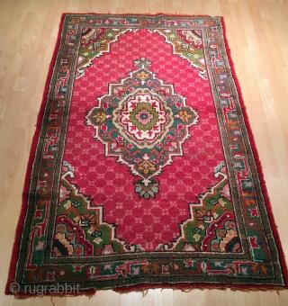 Anatolian Oushak Rug Size 171 x 110