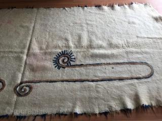 Antique Kirgyz Felt Size 338 x 152 cm
