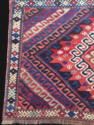 Eastern Anatolia Kurdish Rug Size 138x90 cm