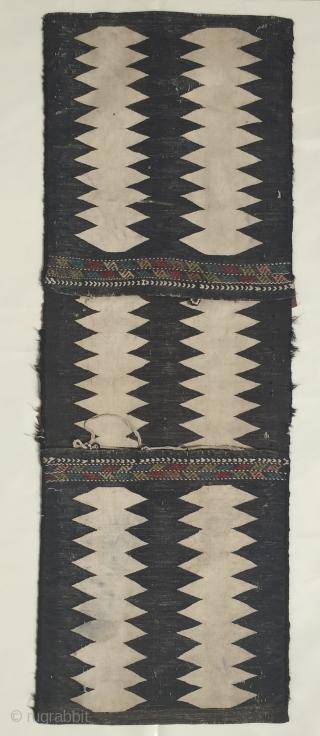 Antique Caucasian Karabagh Heybe 122x44 cm