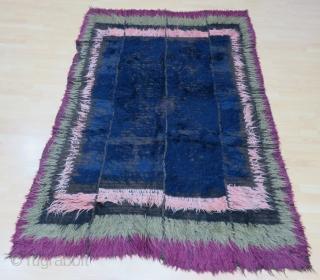 Kirghiz Tulu Rug Size 165x245 cm /5'5''x8'1''