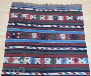 Caucasian Karabagh Kilim Size 172x302 cm /5'7''x9'9''
