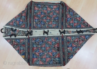 Antique Caucasian Mafrash Good Condition And Colors