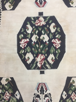 Caucasian Karabagh Kilim Wool And Cotton Size 125x200 cm / 4'1''x6'6''