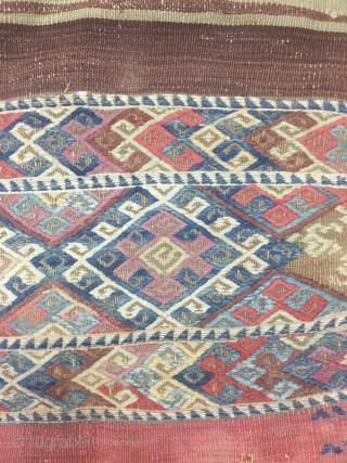 Anatolia Kurdish Kilim Size 106x185 cm / 3'5''x6'1''