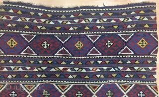 Caucasian Sirvan Kilim Size 165x245 cm / 5'5''x8'1''