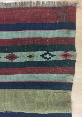 Caucasian Kilim Size 150x310 cm / 5'0''x10'18''