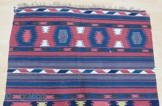 Caucasian Borchalo Kilim Size 170x254 cm / 5'6''x8'4''