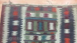 Caucasian Kilim Size 200x310 cm / 6'6''x10'2''