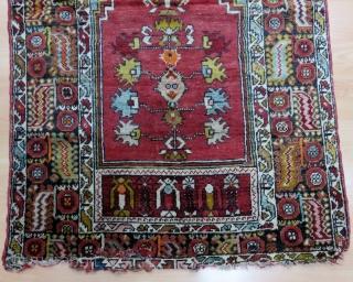 Central Anatolian Kirsehir Rug Size 100x165 cm / 3'3''x5'5''