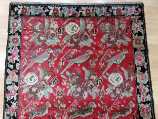 Caucasian Karabagh Rug Size 110x162 cm / 3'6''x5'4''
