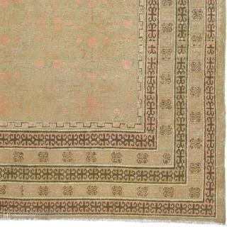 "Antique Chinese Khotan Rug China ca. 1900 16'3"" x 8'6"" (496 x 259 cm) FJ Hakimian Reference #08069"