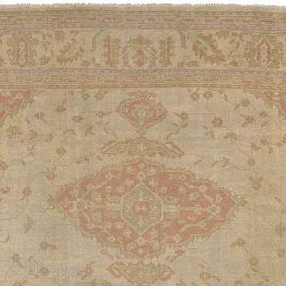 "Antique Turkish Oushak Rug Turkey ca.1890 22'11"" x 13'8"" (699 x 417 cm) FJ Hakimian Reference #04127"