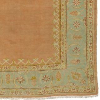 "Antique Turkish Oushak Rug Turkey ca.1890 16'6"" x 8'3"" (504 x 252 cm) FJ Hakimian Reference #04135"