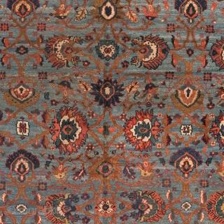 "Persian Mahal Rug Persia ca.1930 10'6"" x 7'11"" (320 x 242 cm) FJ Hakimian Reference #06211"